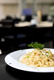 Delicious Italian meal Stock Photo