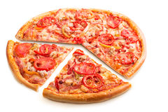 Delicious italian pizza Stock Image