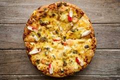Delicious italian pizza Royalty Free Stock Photo