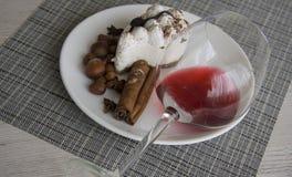 Delicious italian tiramisu Stock Photos