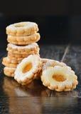Delicious jam cookies Stock Photography