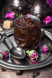 Tea rose preserves Royalty Free Stock Photography