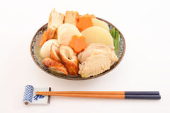 Delicious Japanese casserole Stock Photography
