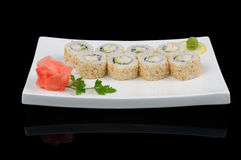 Delicious japanese cuisine Royalty Free Stock Images