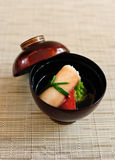 Delicious japanese soup Royalty Free Stock Photography