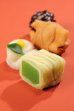 Delicious Japanese style sweets food relaxation Stock Photos