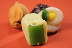 Delicious Japanese style sweets food relaxation Stock Photography