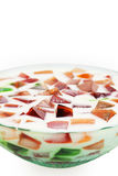 Delicious jelly cake Royalty Free Stock Images