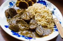Delicious kidney stew Stock Photos