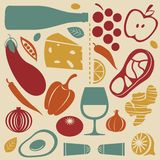 Delicious kitchen set Stock Photos