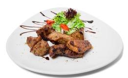 Delicious lamb shish kebab. Stock Image