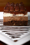 Delicious layers cake Stock Image