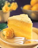 Delicious Lemon Cake Stock Image