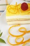 Delicious lemon cake Stock Photos