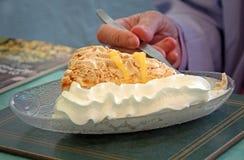 Delicious lemon meringue pie Stock Images