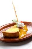 Delicious Lemon pie Stock Images