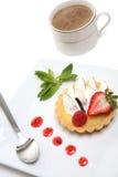 Delicious lemon tart Stock Images