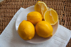 Delicious lemons Royalty Free Stock Photography