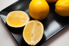 Delicious lemons Stock Photography