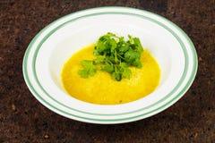 Delicious lentil soup Stock Image