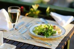 Delicious lettuce plate Stock Photo