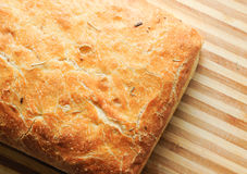A delicious loaf of ciabatta artisan bread Stock Photography