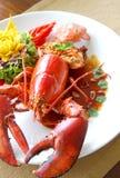Delicious lobster Stock Photos