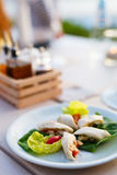 Delicious lunch or dinner Stock Images
