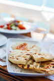 Delicious lunch or dinner Royalty Free Stock Images