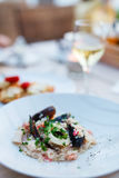 Delicious lunch or dinner Royalty Free Stock Photos
