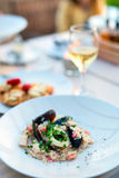 Delicious lunch or dinner Royalty Free Stock Photo