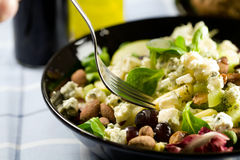 Delicious lunch salad Royalty Free Stock Photo