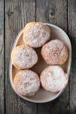 Delicious lush donuts Stock Photos