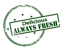 Delicious lways fresh Royalty Free Stock Image