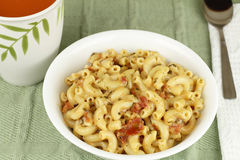 Delicious Macaroni Lunch Royalty Free Stock Photo