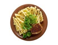Delicious macaroni pasta Royalty Free Stock Images