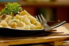 Delicious Macaroni pasta. Stock Photos