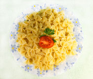 Delicious macaroni Stock Photography