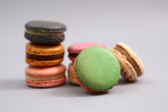 Delicious macarons Stock Images