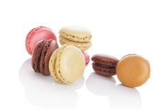 Delicious macaroons. Royalty Free Stock Photography