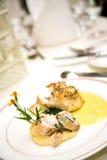 Delicious main course gourmet Stock Photo