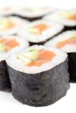 Delicious maki rolls Stock Photo