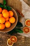 Delicious mandarin Stock Photo