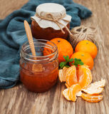Delicious mandarine  jam Royalty Free Stock Photos