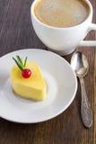 Delicious mango mini cake Stock Photography