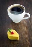 Delicious mango mini cake Stock Images