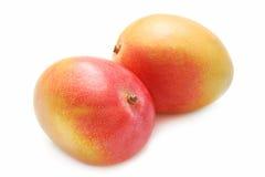 Delicious mango on the table Stock Photos