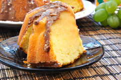 Delicious marble cake Stock Photography