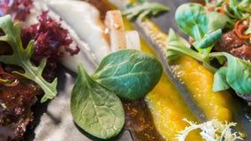Delicious masterpiece von chef stock video