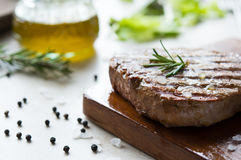 Delicious meat fillet Royalty Free Stock Images
